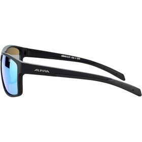 Alpina Nacan I Gafas, black matt/blue mirror